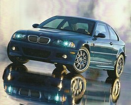 2001 BMW M3 COUPE intro sales brochure catalog US 01 - $12.00