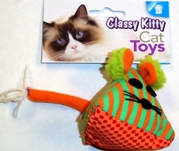 North American Pet - Classy Kitty Triangle Mouse NIP 42103