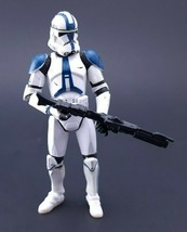 Star Wars ™ - Revenge Of The Sith Super Articulated  501st Clone Trooper... - $30.04