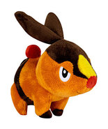Pokemon Black & White: Tepig 6 Inch Tall Plush Brand NEW! - $21.99