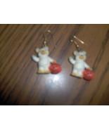 Halloween Teddy Bear Earrings - $2.99