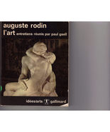 AUGUSTE RODIN - Art Interviews by PAUL GSELL, French - $3.95
