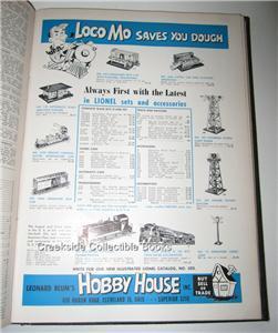 1949 Model Railroader Bound Volume 16 Jan-Dec Full Year