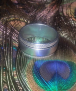 New Moon Vessel #3 Sz 11 Stainless Silver Dragon Ring Protection Clearin... - $49.00
