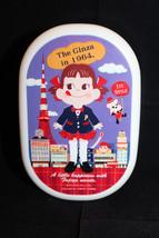 Sanrio Fujiya Peco Chan Milky Plastic Japanese Lunch Box Tokyo Tower Re... - $26.40
