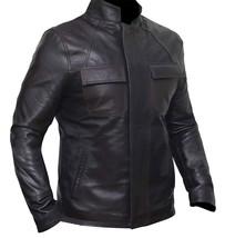 Star Space Hero Dameron Brown Isaac Real Leather Wars Jacket image 4