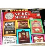 NICKEL MUSIC ~STEREO~ Music of The Gay Nineties LP  - $19.95