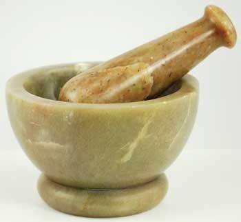 Primary image for Soapstone Mortar and Pestle Set New