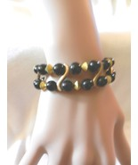 New!! Exquisite Ladies'  Charming  Beads Stretch Wave  Faux Pearl  Brace... - $4.99