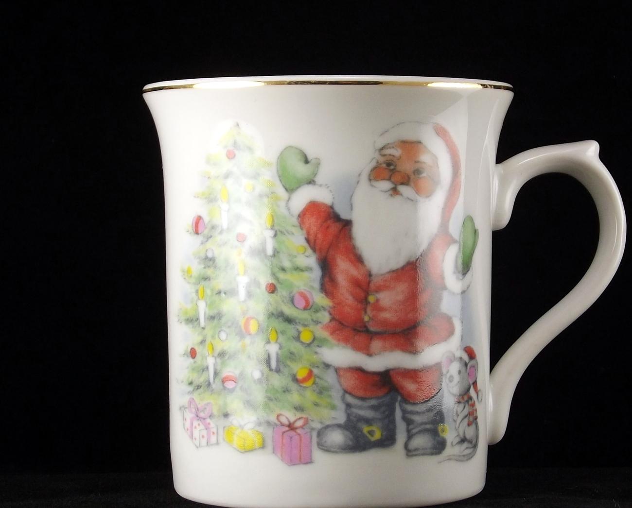 Santa japan mug 1