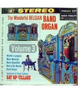 WONDERFUL BELGIAN BAND organ volume 3 LP mint- vinyl - $19.95