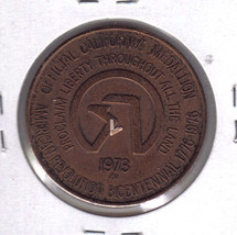 CALIFORNIA HISTORIC EVENTS Official Medallion  - $9.95