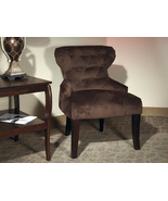 Ave Six Hourglass Tufted Back Lounge Accent Fab... - $149.99