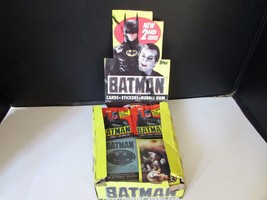 Topps 1989 Batman Trading Cards In Case Opened Incomplete S1 - $5.87
