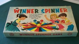 Winner Spinner Game Whitman 1959 Complete Good Cond - $11.00