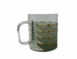 NEW Starbucks 50th Anniversary Mermaid Glass Cup Coffee Mug 12oz Limited... - $18.69
