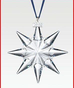 Swarovksi 2009 Annual Ornament Set of 3