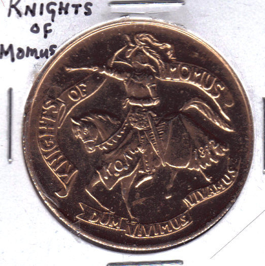 Knights of momus token