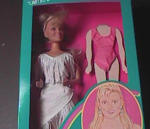 Toy doll vanna white hsn fringe 06