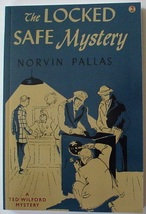 Ted Wilford The Locked Safe Mystery Norvin Pallas no.2 new reprint paper... - $12.00