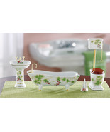 Decorative Collectible Miniature Bathroom Figurine - $32.95