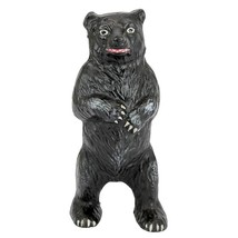 Standing Black Bear Still Action Die-Cast Iron Coin Bank Collectible Mon... - $30.68