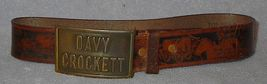 Davy Crockett Belt and Cap Pistol Old Vintage Toy - $24.95