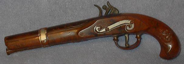 Davy Crocket Belt and Cap Pistol Old Vintage Toy