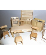 Wood Kitchen And Dining Room Set - $32.95