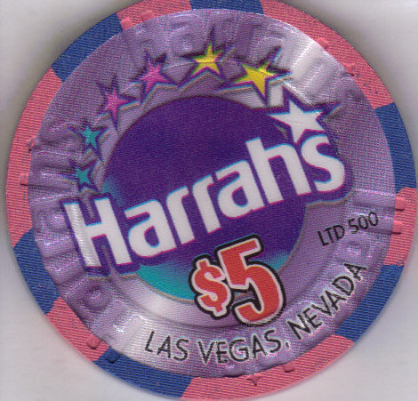 CLAUDINE WILLIAMS HARRAHS Las Vegas Casino Chip