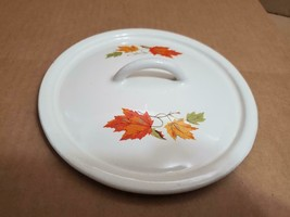 "6.5"" BELGIUM CAST IRON AUTUMN LEAVE CAST IRON 1.6LBS  **LID ONLY (( - $18.47 CAD"