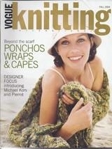 Vogue Knitting Magazine~Fall 2004 - $8.99