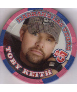 TOBY KEITH Ltd. $5 HARRAHS I Luv This Bar Grill Casino Chip - $9.95