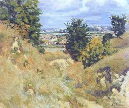 The Museum Outlet - Landscape near Issy-les-Moulineaux, 1877 - Canvas Pr... - $79.19