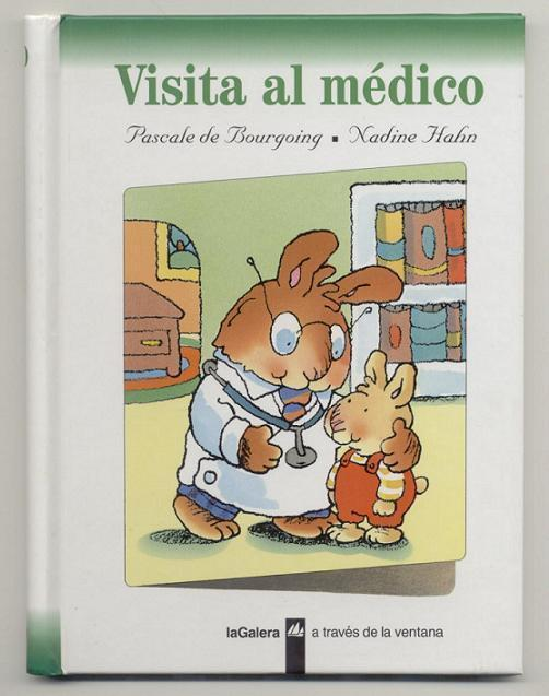 Childrens Spanish Book Visita Al Medico Doctors Visit New Educational 2 Years On