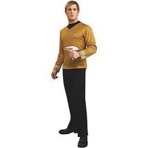 Star Trek Adult (2009 Movie) Deluxe Gold Shirt Costume  - $48.64
