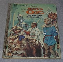 Walt Disney Pictures Return to Oz Vintage Littl... - $4.95