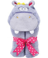 Purple Hippo Tubbie Hooded Towel - $30.00