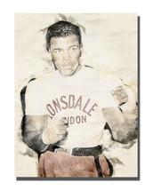 Lonsdale London Muhammed Ali Greatest Boxer Art Design 16x20 Aluminum Wa... - $59.35