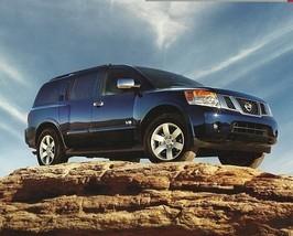 2008 Nissan ARMADA sales brochure catalog US 08 V8 SE LE - $9.00