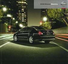 2008 Nissan MAXIMA sales brochure catalog US 08 3.5 SE SL 4DSC - $9.00