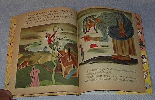 Tenggren's Jack and the Beanstalk Old Vintage Little Golden Book