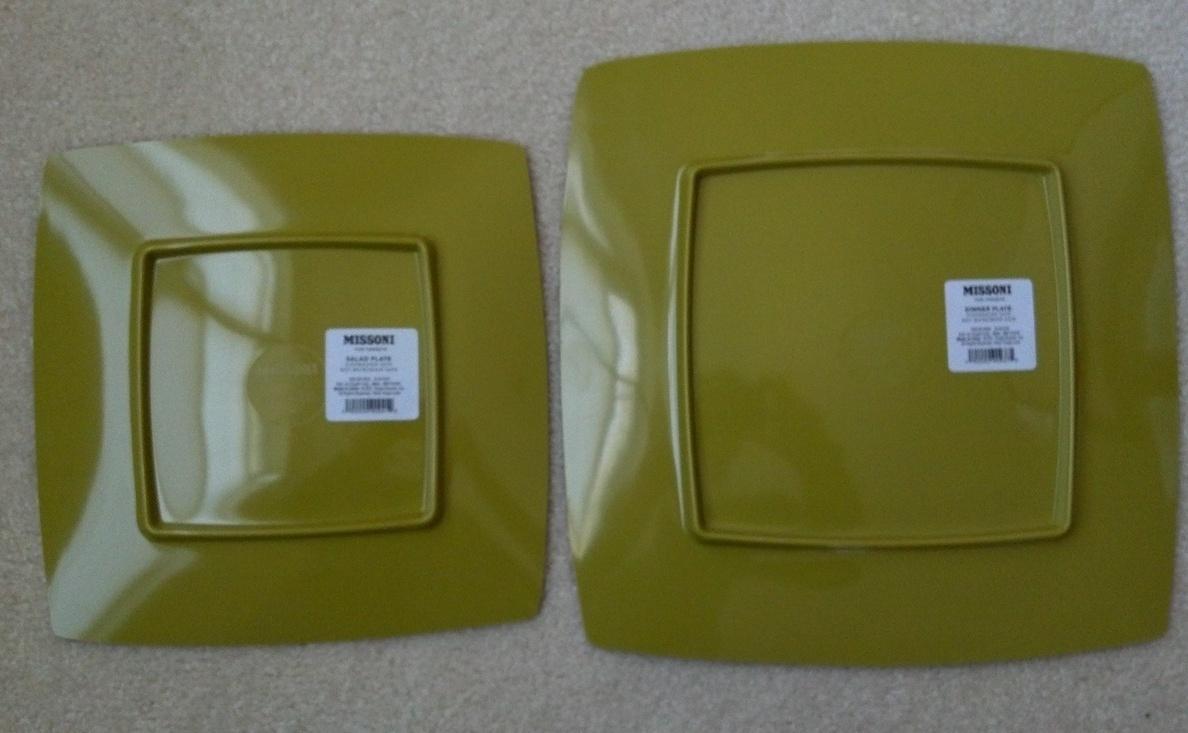 MISSONI FOR TARGET salad plates *passione* NWT ~5 available~