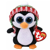 "Ty Beanie Babies Boos Penelope the Christmas Penguin 9"" Plush Stuffed An... - $19.99"