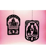 2 Pcs. Hans Christian Andersen's Black Brass Mobile Hangers - $19.00