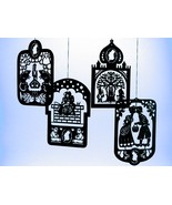 4 Pcs. Hans Christian Andersen's Black Brass Mo... - $37.00