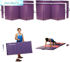 We Sell Mats Folding Exercise Gym 2 x 6', Purple - $54.21