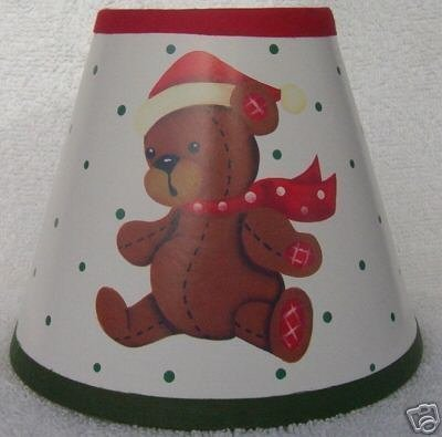 HOLIDAY BEAR Mini Paper Chandelier Lamp Shade