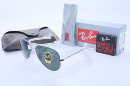 Ray Ban Sunglasses Aviator RB3025 177 58mm ANTIQUE Gold w/G-15 Green - $191.05