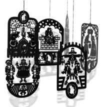 6 Pcs. Hans Christian Andersen's Black Brass Mobile Hangers - $56.00